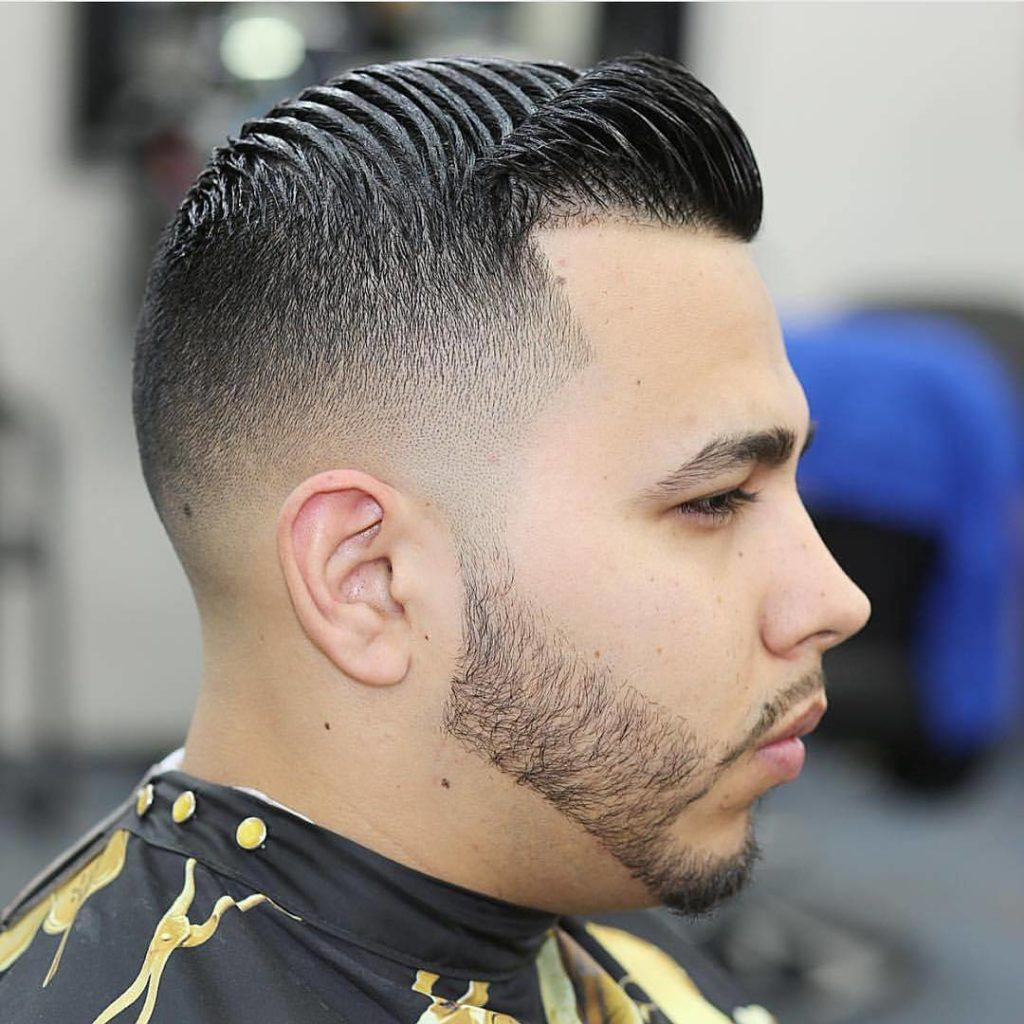 Trendy Black Mens Haircuts 2017 2: Taper Fade Haircut For Classical And Trendy Gentlemen