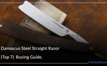 Dmascus stell straight Razor