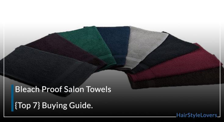Bleach Proof Salon Towels
