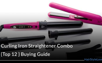 Curling Iron Straightener Combo